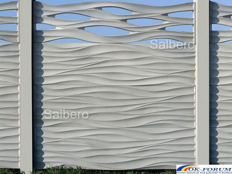 Garduri de beton rezistente - 6
