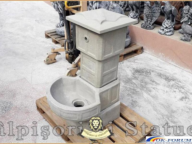 Cismea apa curenta, din beton, model C1. - 1