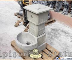 Cismea apa curenta, din beton, model C1.