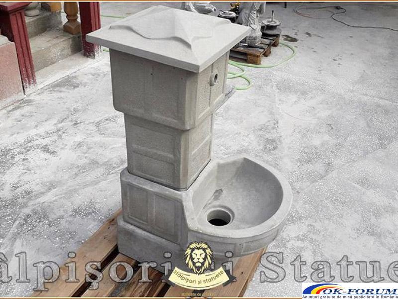 Cismea apa curenta, din beton, model C1. - 2