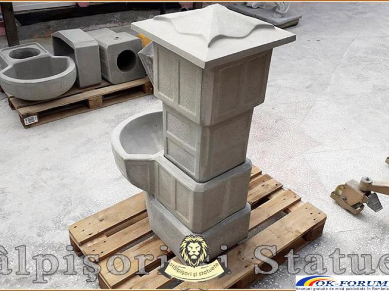 Cismea apa curenta, din beton, model C1. - 3