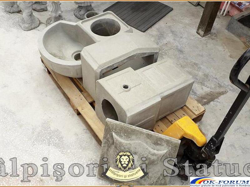 Cismea apa curenta, din beton, model C1. - 4