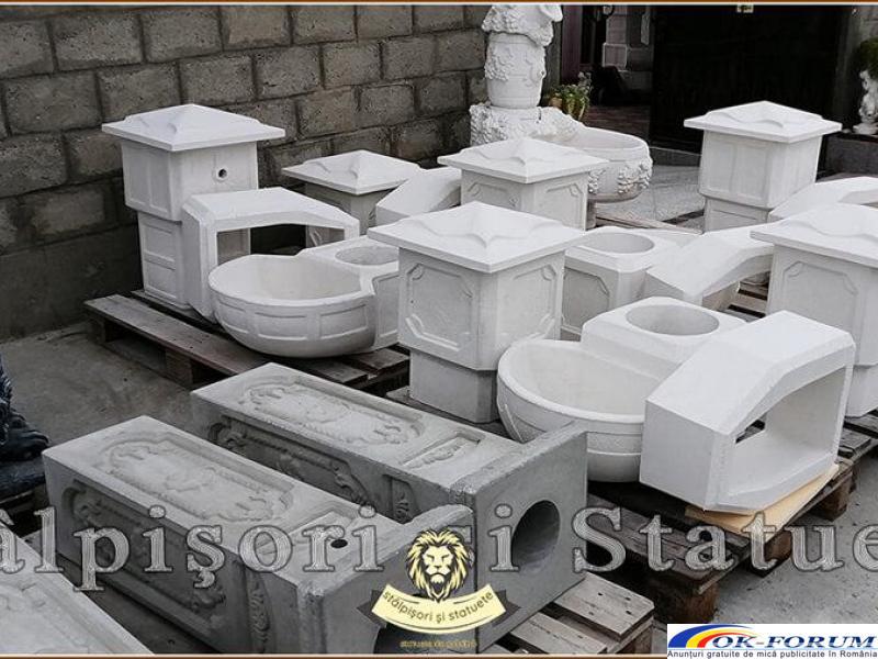 Cismea apa curenta, din beton, model C1. - 9