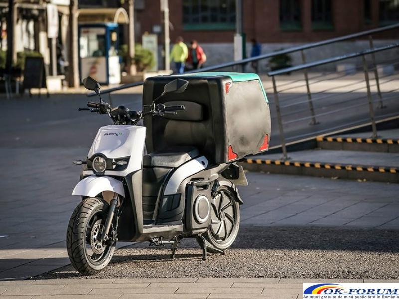 Silence s02 ls delivery - scutere electrice pentru companii - 1