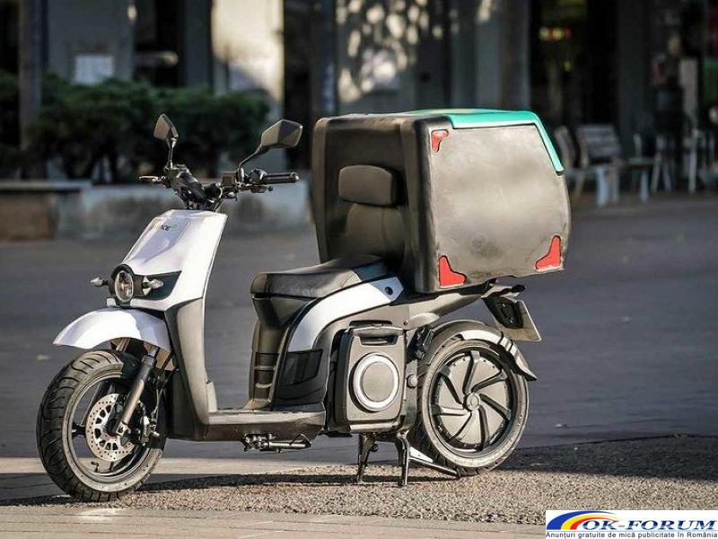 Silence s02 ls delivery - scutere electrice pentru companii - 2