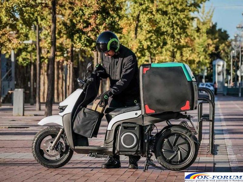 Silence s02 ls delivery - scutere electrice pentru companii - 3