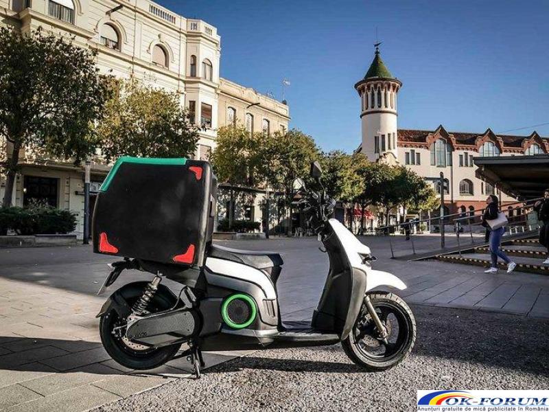 Silence s02 ls delivery - scutere electrice pentru companii - 4