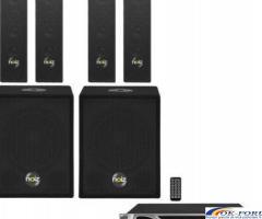 Set sonorizare bar, pub, Noiz Satellite+Bass Box Complete-VPA1000, 1000W