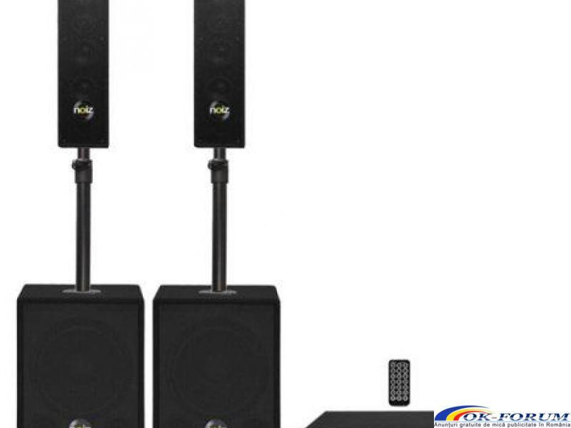 Sistem sunet Noiz Satellite+Bass Box-VPA1000, 1000W - 1