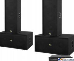Set boxe sonorizare Noiz Bass-Line, 2000W RMS, Complet