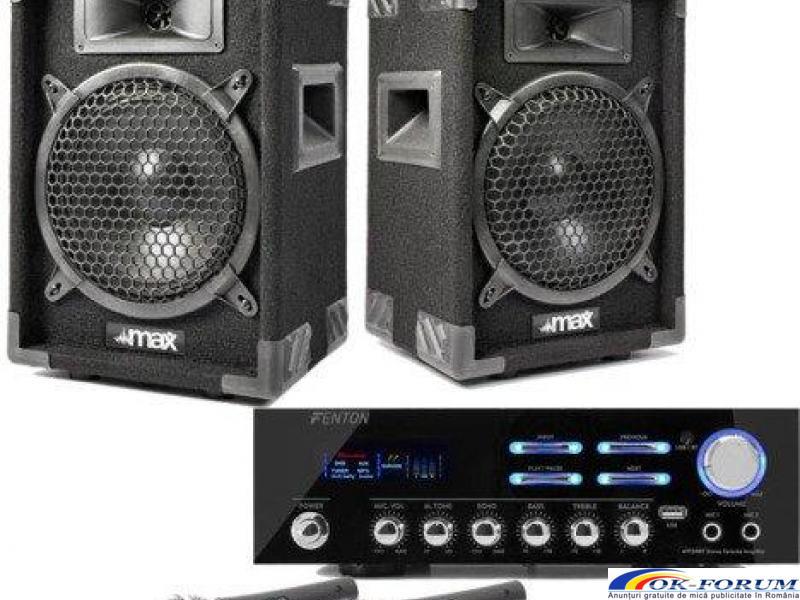 Sistem Karaoke Star Partyset S cu Bluetooth si Microfoane - 1