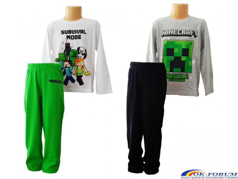 Bluze si tricouri copii Minecraft - 2