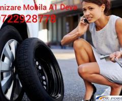 Vulcanizare mobila non-stop 24/7 A1 - DEVA - 0722928778